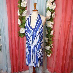 ViX Paula Hermanny Baoba Amanda Short Blue Dress